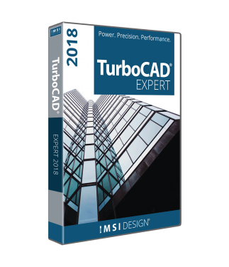 TurboCAD Expert 2018 Upgrade from TurboCAD LTE, LTE Pro or Deluxe v18 or later