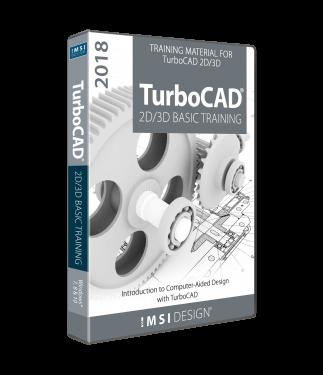 TurboCAD 2018 2D/3D Basic Training