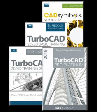 TurboCAD Pro Platinum 2018 Bundle