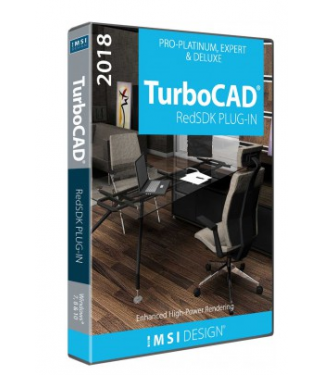 RedSDK Plug-in for TurboCAD