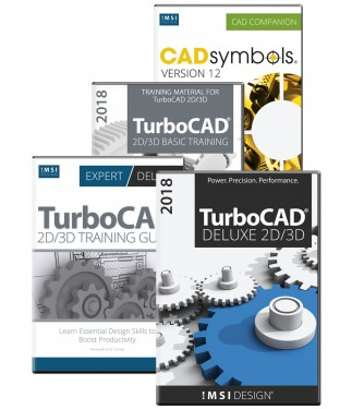TurboCAD Deluxe 2018 Bundle
