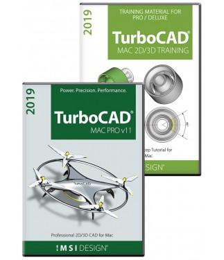 TurboCAD Mac Pro V11 and Training Bundle