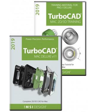 TurboCAD Mac Deluxe v11 and Training Bundle