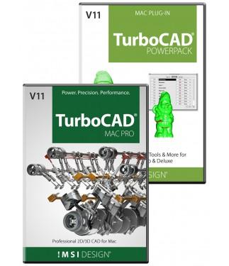 TurboCAD Pro v11/PowerPack v11 Bundle