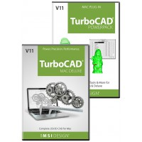 TurboCAD Deluxe v11/PowerPack v11 Bundle Thumbnail