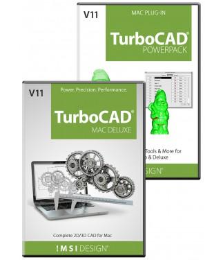 TurboCAD Deluxe v11/PowerPack v11 Bundle