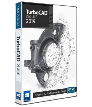 TurboCAD Deluxe 2019 Upgrade from TurboCAD Designer 2019
