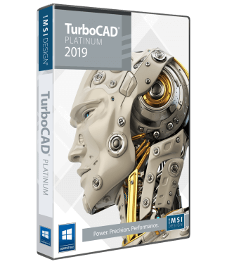 TurboCAD 2019 Platinum Annual Subscription - TurboCAD via IMSI Design
