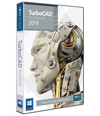 TurboCAD 2019 Platinum Upgrade from TC Deluxe v19 or Later, or TC Expert