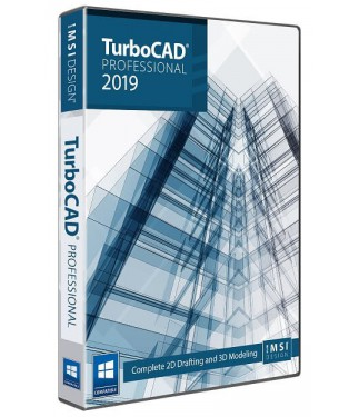 TurboCAD 2019 Professional Upgrade from TurboCAD LTE, LTE Pro, or Expert