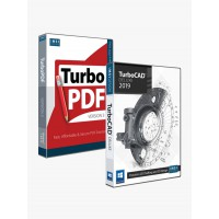 TurboCAD 2019 Deluxe & TurboPDF v3 Bundle Thumbnail