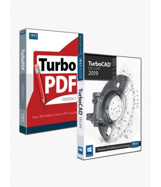 TurboCAD 2019 Deluxe & TurboPDF v3 Bundle