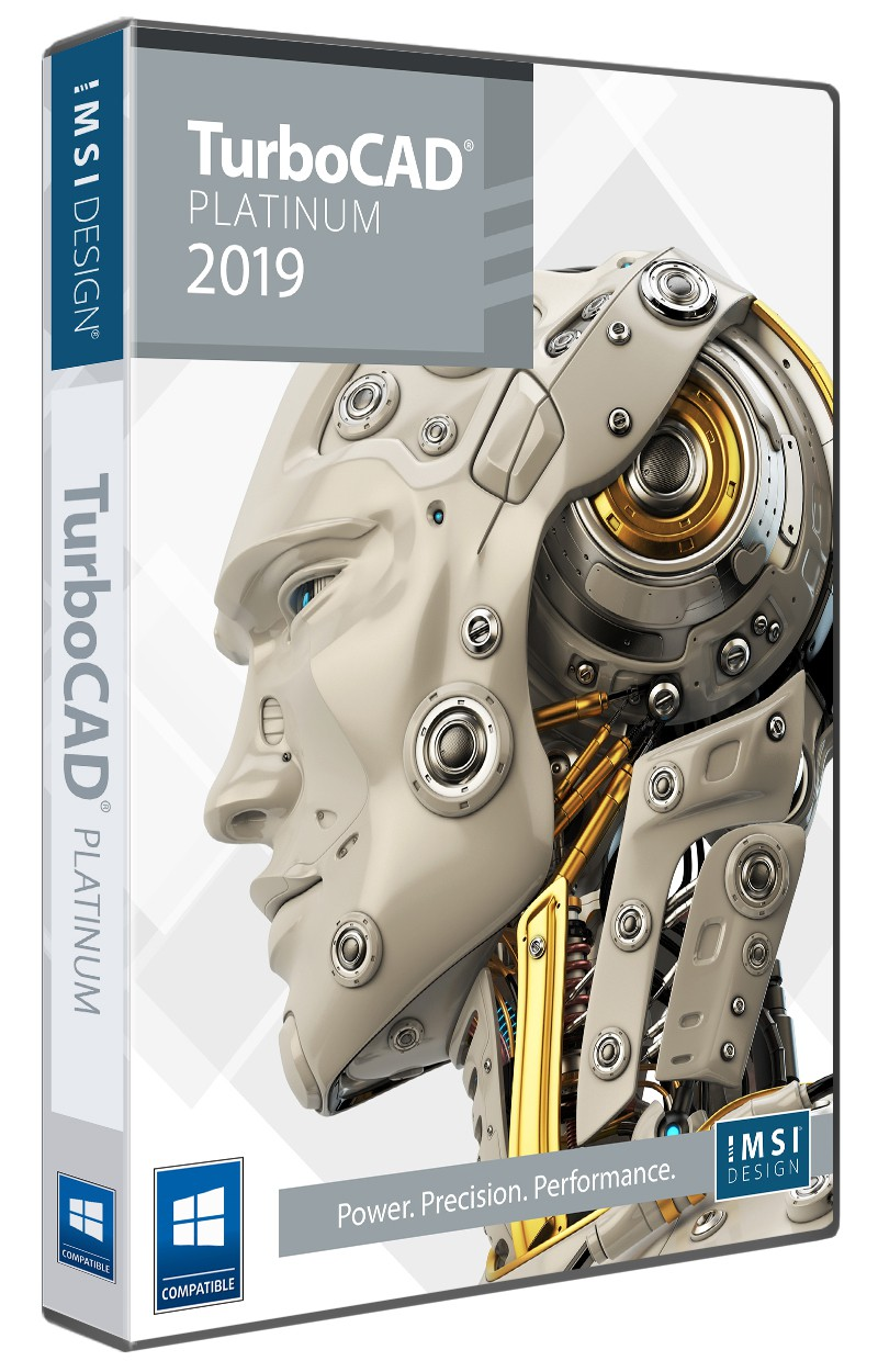 TurboCAD 2019 Platinum Upgrade from all other pre 2018 Platinum and Pro  owners - TurboCAD via IMSI Design