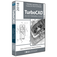 2D/3D Training Guide Bundle for TurboCAD... Thumbnail