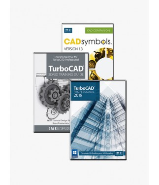 TurboCAD 2019 Professional Bundle