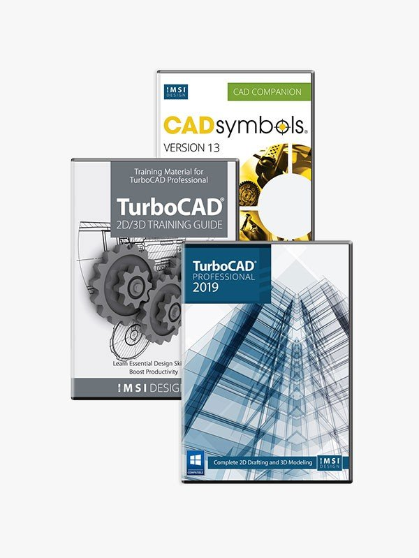 Full TurboCAD Pro screenshot