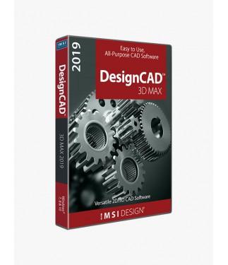 DesignCAD 3D Max 2019 (Upgrade From v24, v25,v26,v27)