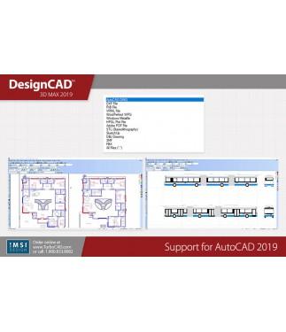 DesignCAD 3D Max 2019 Bundle - TurboCAD via IMSI Design