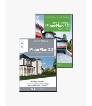 TurboFloorPlan Pro 2019 and Training Bundle- Mac Version