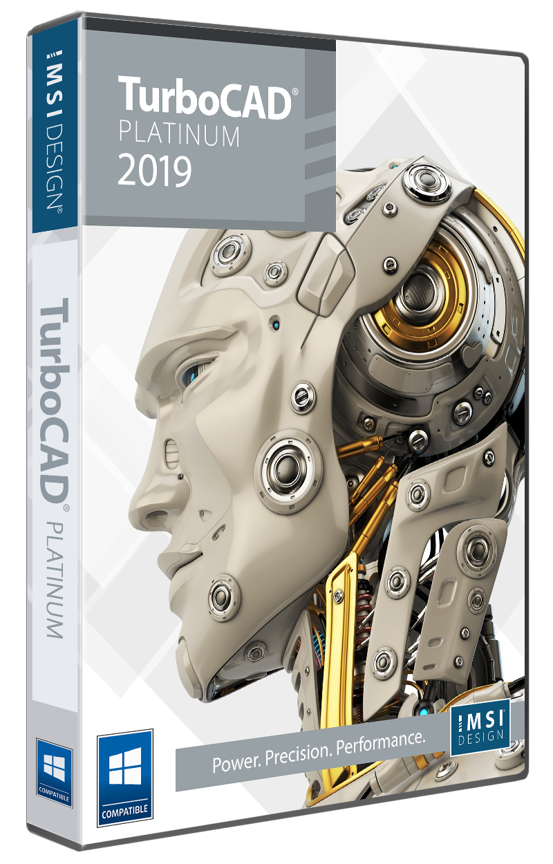 TurboCAD 2019 Platinum - TurboCAD via IMSI Design