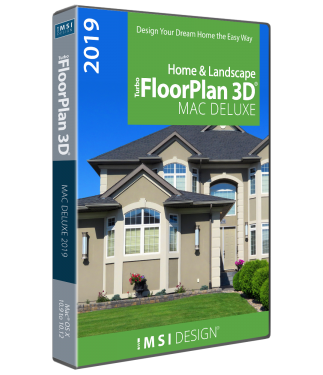 TurboFloorPlan Home & Landscape Deluxe Mac 2019