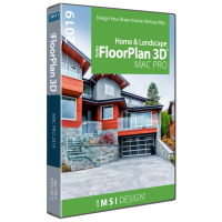 TurboFloorPlan Home & Landscape Pro 2019 Mac Thumbnail