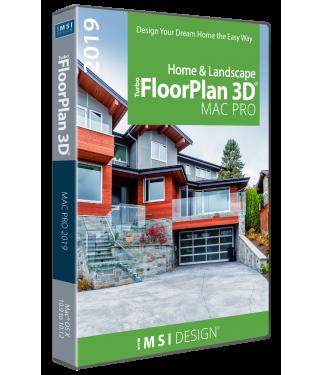 TurboFloorPlan Home & Landscape Pro 2019 Mac