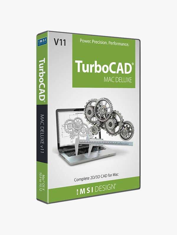 TurboCAD Mac Deluxe 2D/3D v11 - TurboCAD via IMSI Design