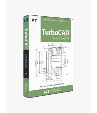 TurboCAD Mac Designer 2D v11