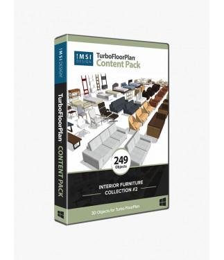 TurboFloorPlan Content Pack - Interior Furniture Collection No.2