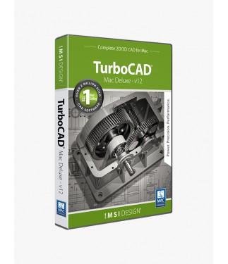 TurboCAD Mac Deluxe 2D/3D v12