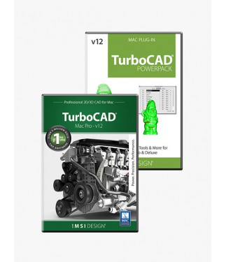 TurboCAD v12 Pro/PowerPack Bundle
