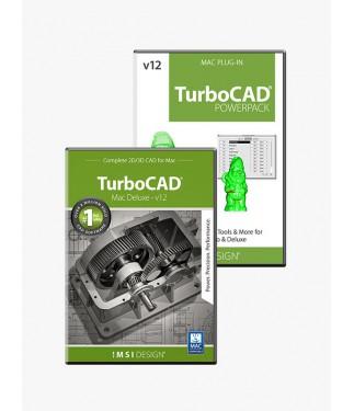 TurboCAD v12 Deluxe 2D3D/PowerPack Bundle