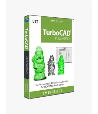 TurboCAD Mac v12 PowerPack for Pro