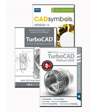 TurboCAD 2020 Platinum Bundle