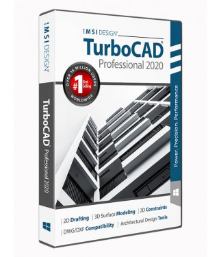 TurboCAD 2020 Professional Upgrade from TurboCAD 2020 Deluxe