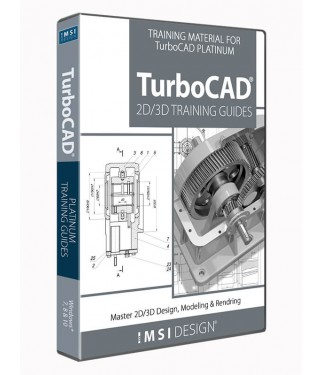 2D/3D Training Bundle for TurboCAD Pro