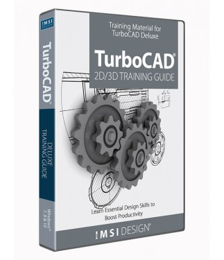 2D/3D Training Guide Bundle for TurboCAD Deluxe