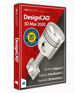 DesignCAD 3D Max 2020 (Upgrade from all other DesignCAD 3D Max)