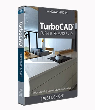 TurboCAD Furniture Maker v20