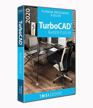 RedSDK Plug-in for TurboCAD 2020