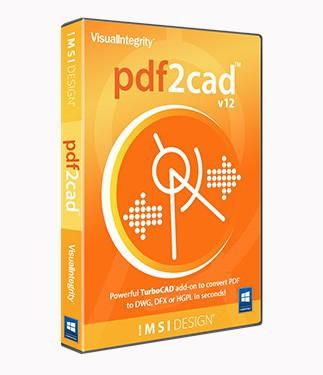 PDF2CAD PC v12