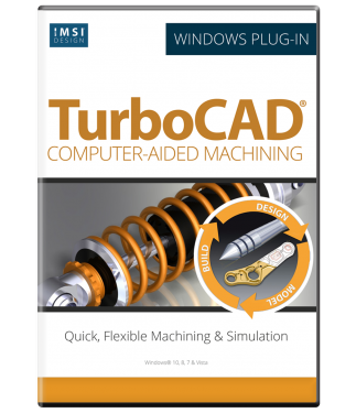 CAM Plug-in for TurboCAD Platinum 2019/2020