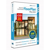 FloorPlan 2020 Home & Landscape Pro with... Thumbnail