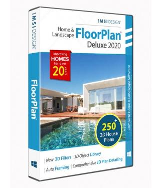 FloorPlan 2020 Home & Landscape Deluxe
