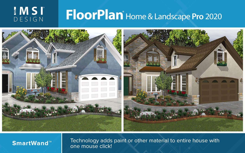FloorPlan Home & Landscape Pro 20