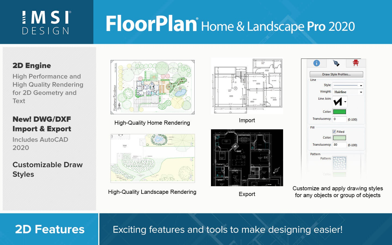 FloorPlan 2020 Home & Landscape Pro with Lightworks ...