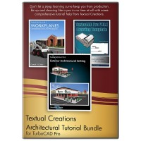 Architectural Tutorial Bundle for TurboCAD... Thumbnail