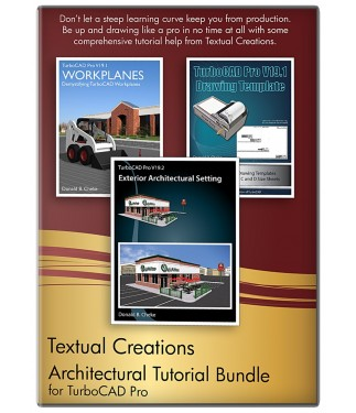 Architectural Tutorial Bundle for TurboCAD Pro