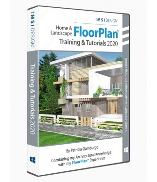 TurboFloorPlan 2019: Training & Tutorials - Windows Version - by Patricia Gamburgo